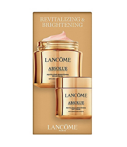 Lancome Absolue Revitalizing Brightening and Brightening Rich Cream Gift set