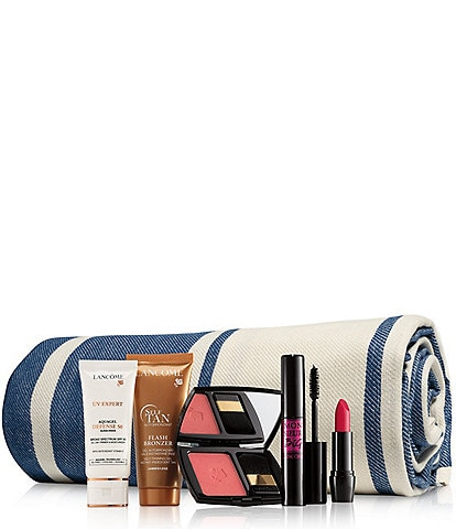 Lancome Summer Essentials 6-piece gift $45 with any Lancome purchase.