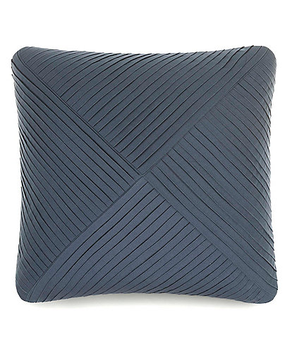 Laundry by Shelli Segal Glendale Pleated Square Pillow