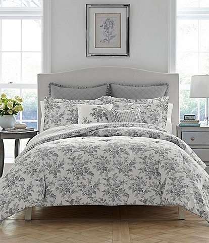 Laura Ashley Annalise 6-Piece Comforter Set