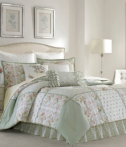 Laura Ashley Harper Floral Comforter Set
