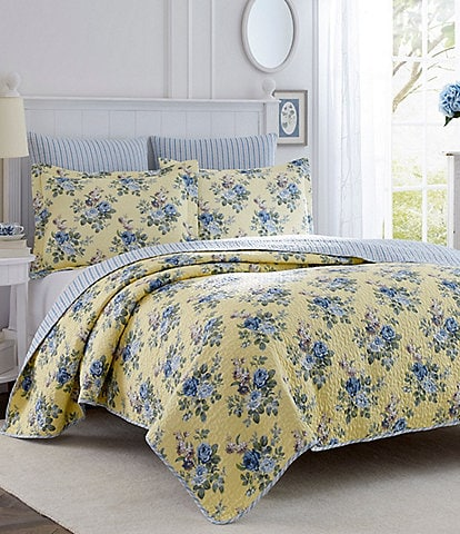 Laura Ashley Linley Floral Quilt Mini Set