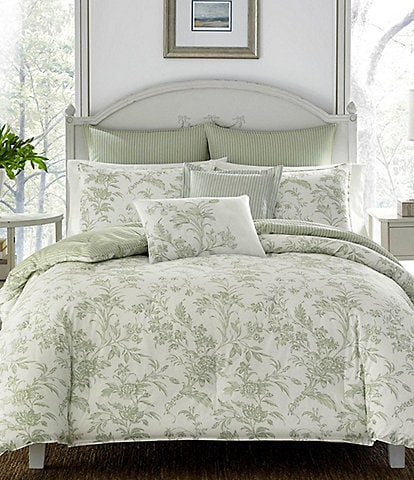 Laura Ashley Natalie 6-Piece Comforter Set