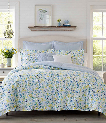 Laura Ashley Nora 6-Piece Comforter Set