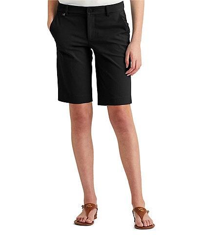 Lauren Ralph Lauren Petite Size Stretch Cotton Short