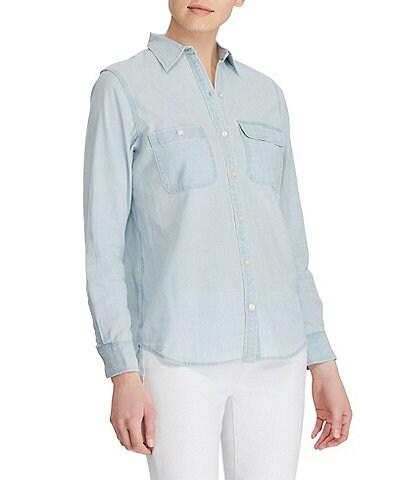 Lauren Jeans Co. Chambray Shirt