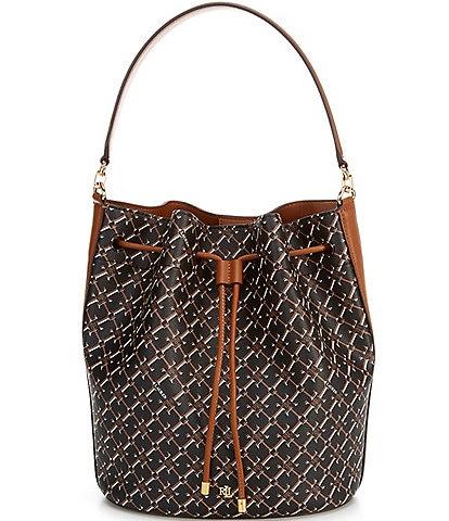 Lauren Ralph Lauren Andie Drawstring Shoulder Bag