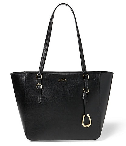 Lauren Ralph Lauren Bennington Leather Shopper Bag