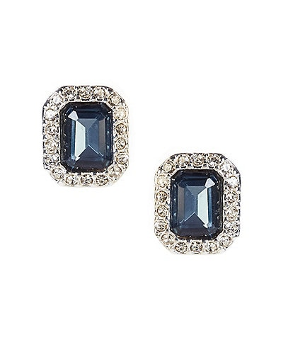 Lauren Ralph Lauren Blue Stone Stud Earrings