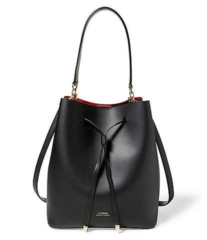 Lauren Ralph Lauren Debby Drawstring Bucket Bag