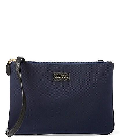 Lauren Ralph Lauren Double-Zip Nylon Cross-Body Bag