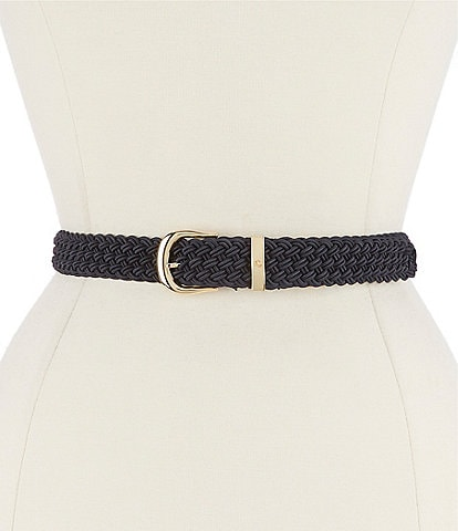 Lauren Ralph Lauren Elastic Braided Stretch Belt