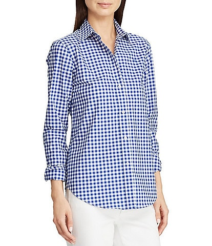 Lauren Ralph Lauren Gingham Button-Down Shirt