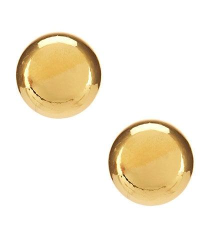 Lauren Ralph Lauren Goldtone Ball Stud Earrings