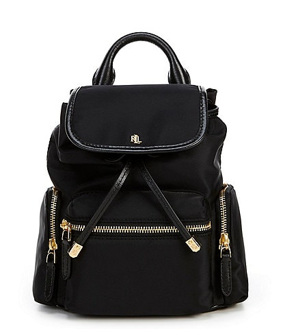 Lauren Ralph Lauren Keely Soft Nylon Small Backpack