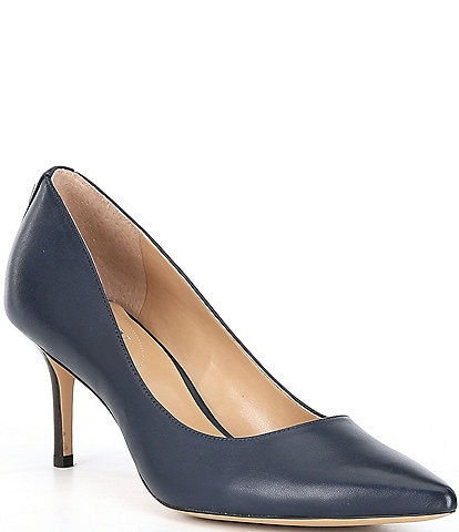 Lauren Ralph Lauren Lanette Leather Pumps