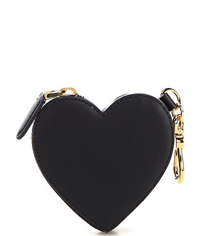 Lauren Ralph Lauren Leather Heart Coin Pouch