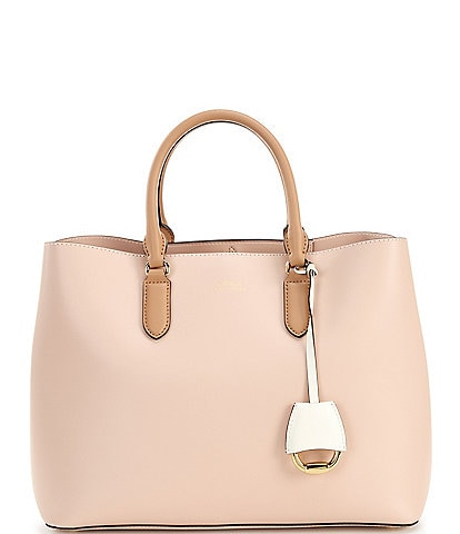 Lauren Ralph Lauren Marcy Leather Satchel Bag