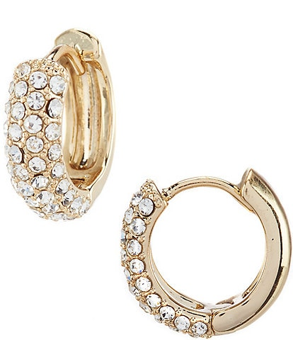 Lauren Ralph Lauren Pave Huggie Earrings
