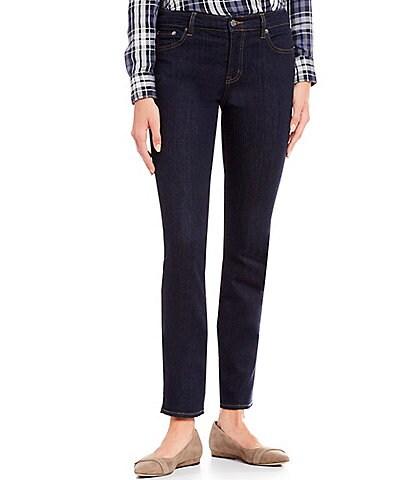 Lauren Ralph Lauren Petite Size Modern Straight Curvy Jeans