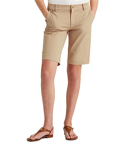 Lauren Ralph Lauren Petite Stretch Cotton Twill Short