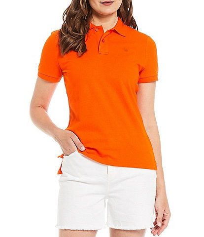 Lauren Ralph Lauren Pique Short Sleeve Polo Shirt