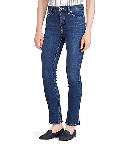 Lauren Ralph Lauren Regal High Rise Straight Ankle Jean