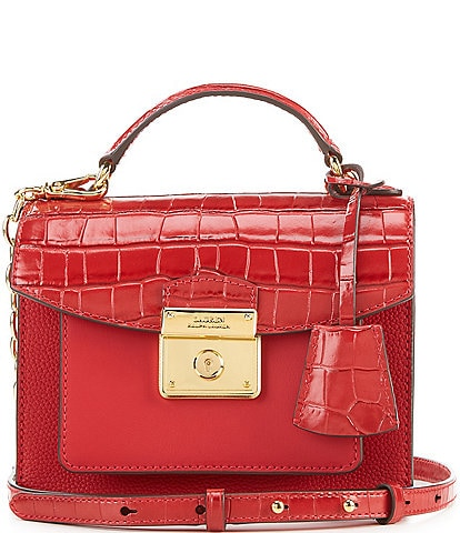 Lauren Ralph Lauren Small Beckett Satchel Bag