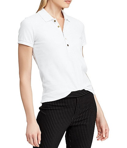 Lauren Ralph Lauren Stretch Piqu Polo Shirt