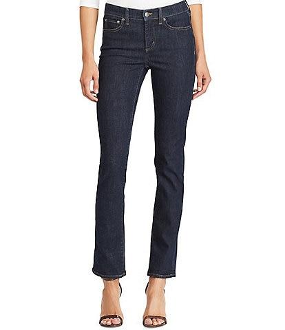 Lauren Ralph Lauren Ultimate Slimming Premier Straight Leg Ankle Jeans