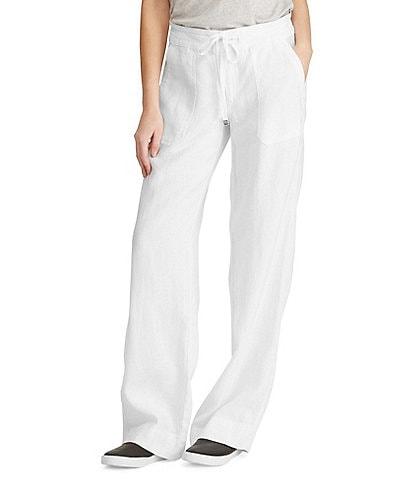 31c06d99b97d Lauren Ralph Lauren Wide-Leg Linen Pants