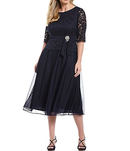 Plus-Size Short Mother of the Bride Dresses | Dillard\'s