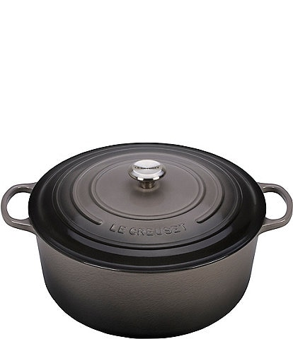 Le Creuset 13.25-Quart Signature Round Dutch Oven with Stainless Steel Knob