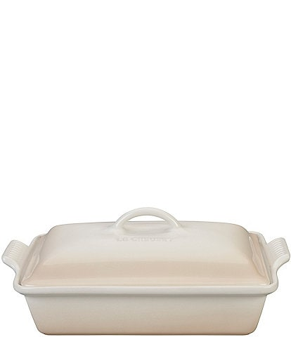 Le Creuset 4-Quart Heritage Covered Rectangular Casserole