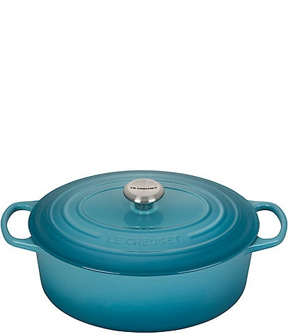 Le Creuset 5-Quart Signature Oval Dutch Oven with Stainless Steel Knob