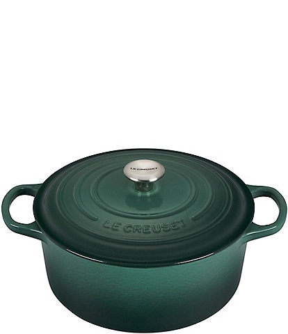 Le Creuset 7.25-qt Round Enameled Cast Iron Dutch Oven with Stainless Steel Knobs