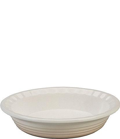 Le Creuset Heritage 9#double; Scalloped Stoneware Pie Dish