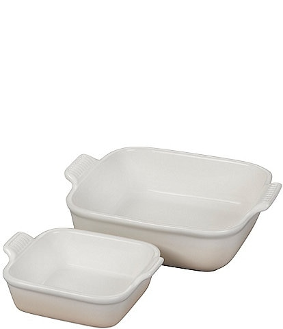 Le Creuset Heritage Square Baking Dishes, Set of 2