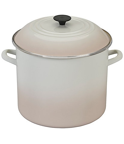Le Creuset Meringue 16-Quart Enameled Steel Stockpot