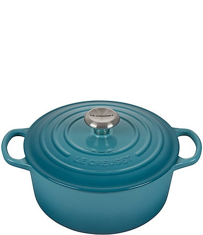 Le Creuset Signature 5.5-qt. Round Enameled Cast Iron Dutch Oven with Stainless Steel Knob