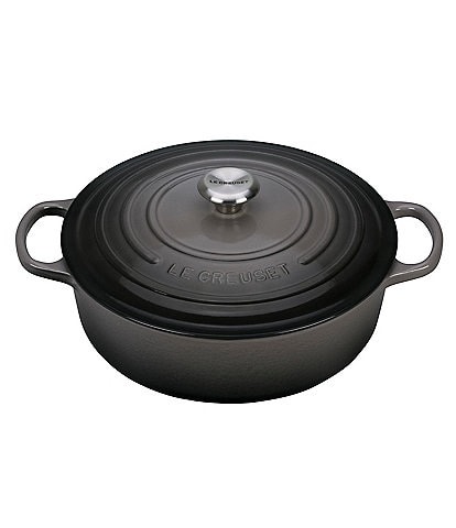 Le Creuset Signature 6.75-Quart Enamel Cast Iron Round Wide Dutch Oven