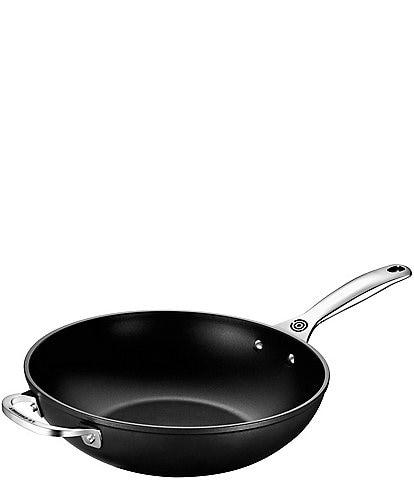 Le Creuset Toughened Nonstick Pro 12#double; Stir Fry Pan with Helper Handle