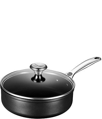 Le Creuset Toughened Nonstick Pro 3-1/2 qt. Saute Pan with Glass Lid
