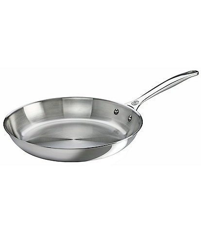 Le Creuset Tri-Ply Stainless Steel 12#double; Fry Pan