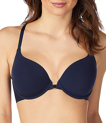 Le Mystere Natural Comfort Convertible Racerback Full-Busted Contour Underwire Bra