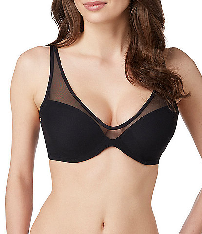 Le Mystere Sheer Illusion Contour Demi Bra