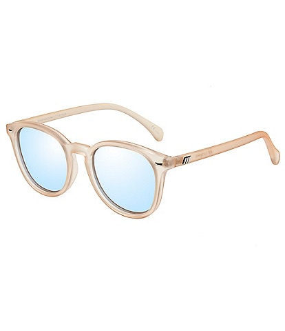 Le Specs Bandwagon Mirrored Retro Sunglasses