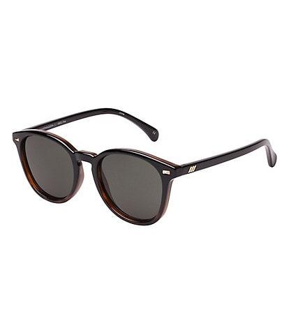 Le Specs Bandwagon Round 51mm Sunglasses