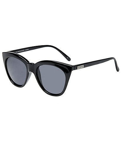 Le Specs Halfmoon Magic Smoke Lens Cat Eye Sunglasses