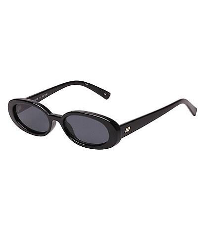 Le Specs Outta Love Oval 51mm Sunglasses